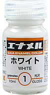 GE01  エナメルホワイト  white 10ml  (光沢)