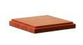 DB001  木製ベース 角型 S  天然マホガニー材(GSIクレオス)