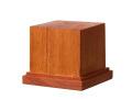 DB002  木製ベース 角型 M   天然マホガニー材(GSIクレオス)