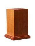 DB004  木製ベース 角型 L   天然マホガニー材(GSIクレオス)