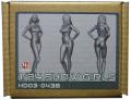 HD03-0438 1/24 ショーガールフィギュア Show Girls (F) Hobbydesign