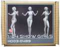 HD03-0489 1/24 ショーガールフィギュア Show Girls (J) Hobbydesign