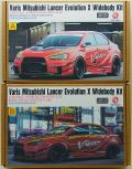 HD03-0539 1/24 Varis Mitsubishi Lancer Evolution X Widebody kit (For.A)    【HOBBY DESIGN】