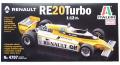 IT4707 1/12  RENAULT RE20 Turbo 日本語説明書付き  ITALERI