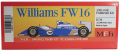 K738  (Ver.B) Williams FW16 Pacific GP 1/20scale Fulldetail Kit