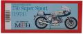 K757  750 Super Sport [1974]  1/9scale Fulldetail Kit