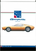 bkit13  MANGUSTA 1/24scale kit  Supercar Modeling Project24