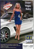 mb-mb24020  1/24  Sloan Vegas Bab  Dagerous Curves Series