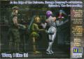 mb-mb24031 1/24 傭兵アントン3体:宇宙の果ての奇妙な仲間シリーズ1