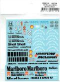msmd140 1/20 McLaren MP4/6 Sponsor Decal  (MSMcreation)