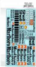 msmd180 1/12 McLaren MP4/4 Sponsor Decal (MSMcreation)
