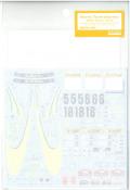shk-d341 1/24 ワークスチームインプレッサ 2001モンテカルロ T社「スバルインプレッサWRC2001」対応