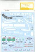 shk-d388 1/24 GT チームUK 2019LM(R社「フォード GT ル・マン」対応)