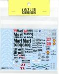 TABU20016B  1/20 MP4/5B  Full sponsor (T社対応)