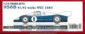 TK2442R 1/24  956B #1/# 2works WEC 1983  1/24TRANS KITS