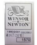 w5012001 ミニチュアNo.1  (短毛タイプ) 軸径:1.5mm全長:174mm  (ウインザー&ニュートン)