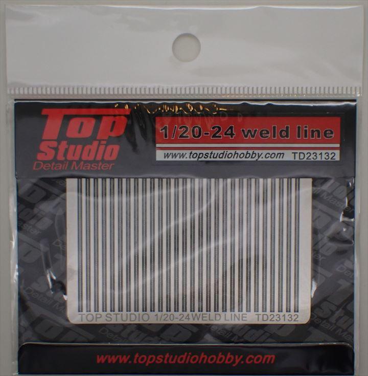 TD23132  1/20-1/24 溶接痕 エッチングセット(トップスタジオ)