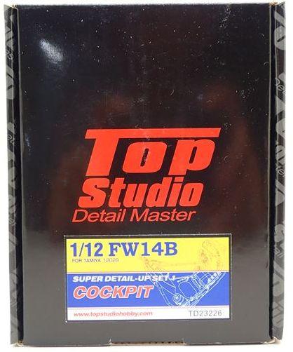 tops-td23226 1/12 FW14B COCKPIT DETAIL-UPSET (トップスタジオ)