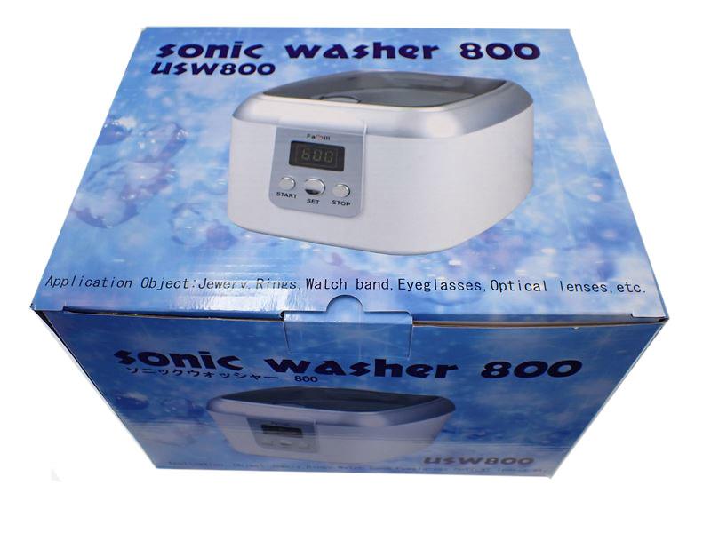 usw800  超音波洗浄機 ソニックウォッシャー800   600mlの洗浄槽