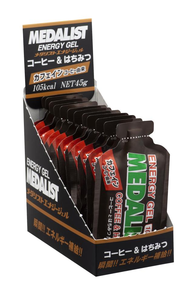 エナジージェルMEDALISTコーヒー12袋