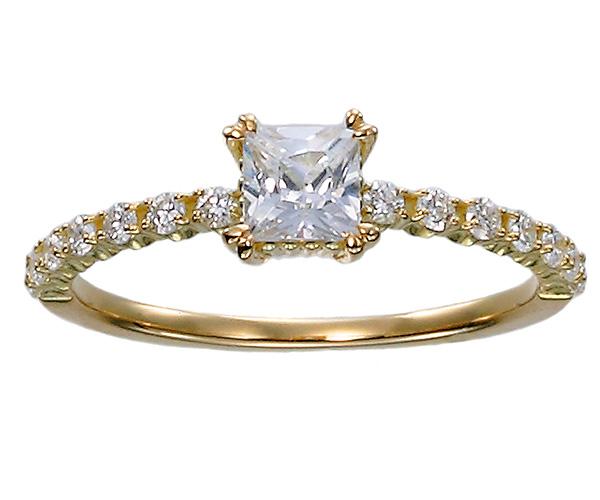 ジュピターのエンゲージリング婚約指輪