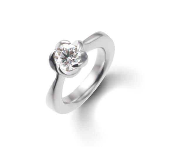 ベビーリングダイヤモンド