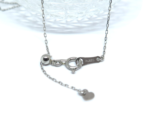 Ptあこや真珠一粒ネックレス