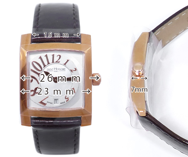 サントノーレ/腕時計/オルセーカレ23mm/レディースウォッチ