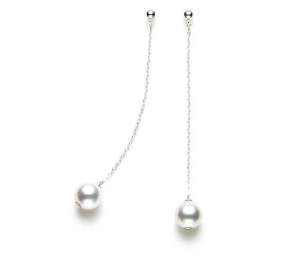 初めての真珠にファーストパールピアス