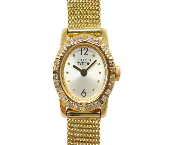 ジュピター腕時計LYDEW ゴールド