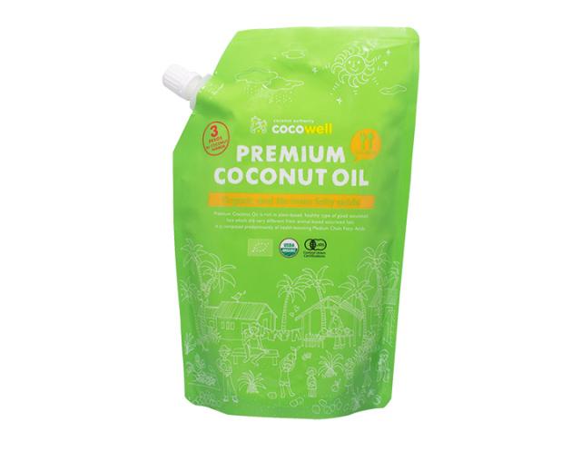 天然の中鎖脂肪酸で健康ダイエット・プレミアム ココナッツオイル  460g x 18 個/1ケース 送料無料+特別価格10%引き グループ買い、まとめ買い割安