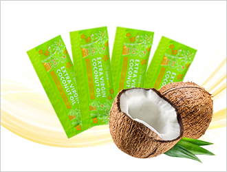天然の中鎖脂肪酸で健康ダイエット・プレミアム ココナッツオイル スティックタイプ 7g 7本セット