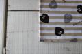 ハート&ハート/ボーダー/カフェ×モノトーン