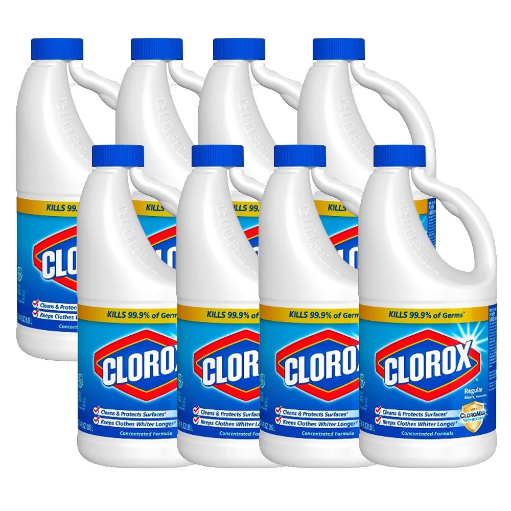 clorox クロロックスブリーチ まとめ買い 8本入り