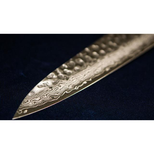 日本和包丁 牛刀ダマスカス  Japanese Damascus gyutou knife 210mm 4