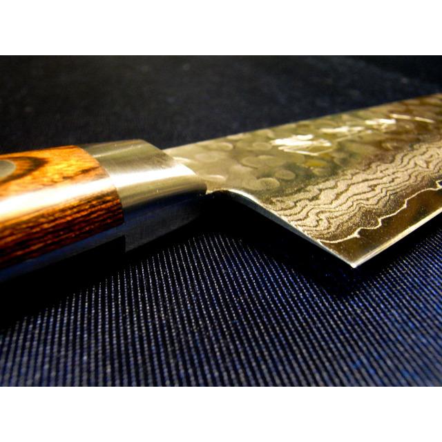 日本和包丁 牛刀ダマスカス  Japanese Damascus gyutou knife 210mm 9