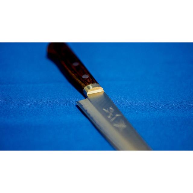 日本和包丁 ゴールド割込ペティナイフ Japanese Vgold petty knife 135mm 1