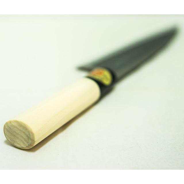 日本和包丁 左用出刃 安来黄5寸(150mm) Japanese deba knife lefty 150mm 6