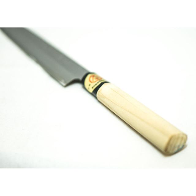 日本和包丁 左利き 刺身柳刃 Japanese left handed sashimi yanagiba knife 210mm 2