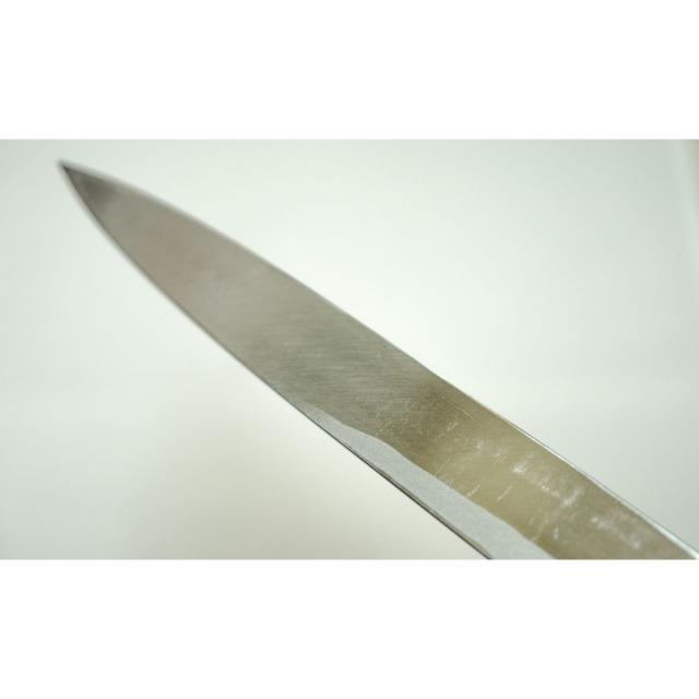 日本和包丁 左利き 刺身柳刃 Japanese left handed sashimi yanagiba knife 210mm 5