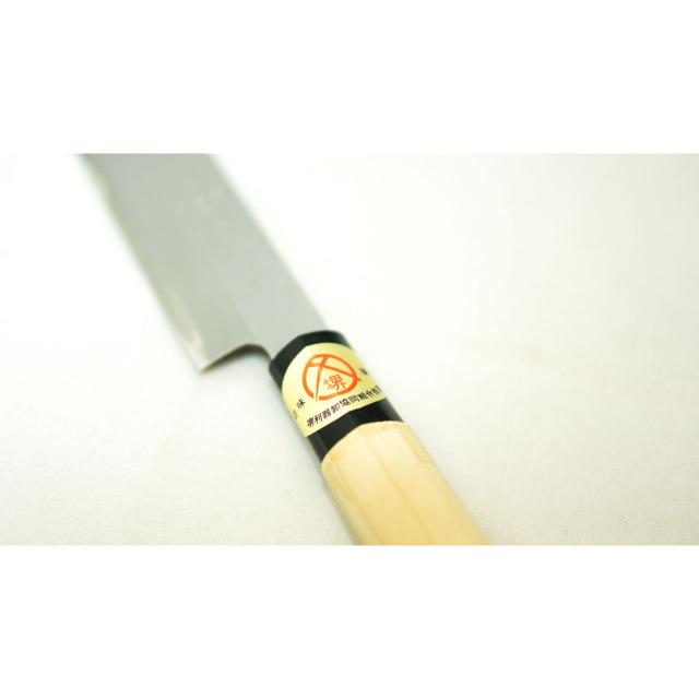 日本和包丁 左利き 刺身柳刃 Japanese left handed sashimi yanagiba knife 210mm 7
