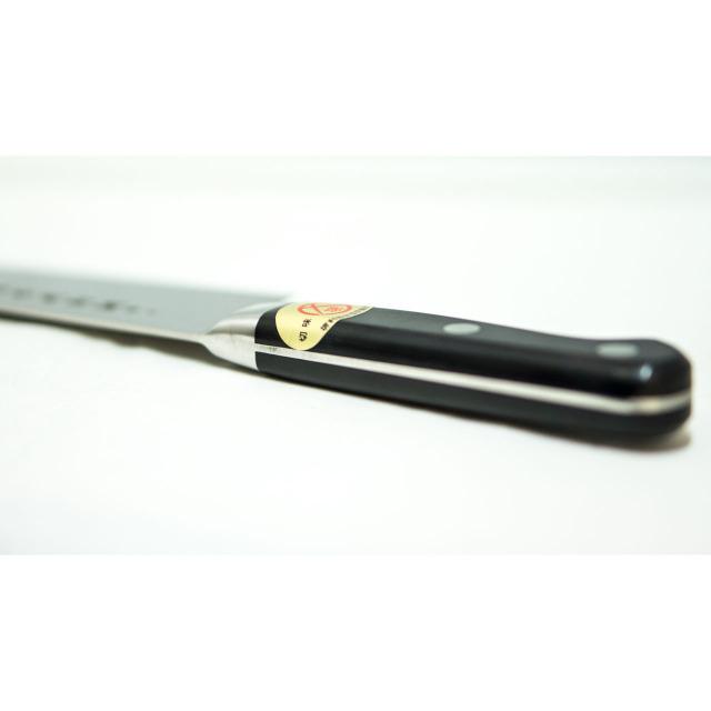 日本和包丁 モリブデン三徳万能 極上 Japanese molybdenum santoku knife 180mm 3