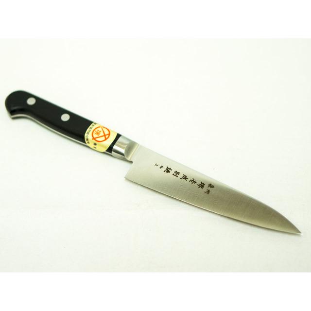 日本和包丁 モリブデンペティナイフ 極上 Japanese molybdenum petty knife 120mm 1