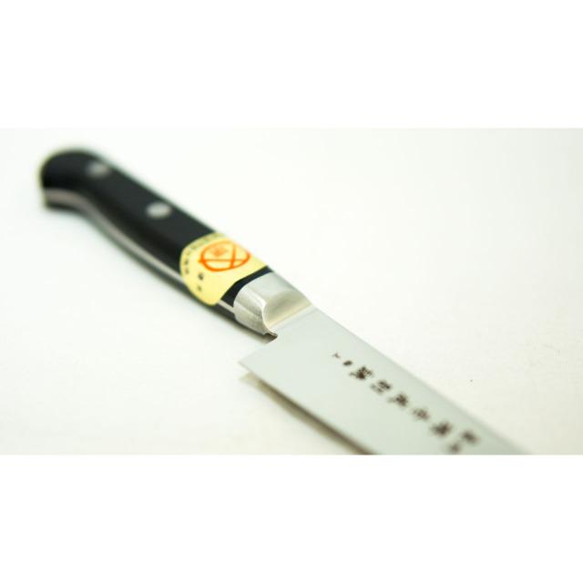 日本和包丁 モリブデンペティナイフ 極上 Japanese molybdenum petty knife 120mm 2