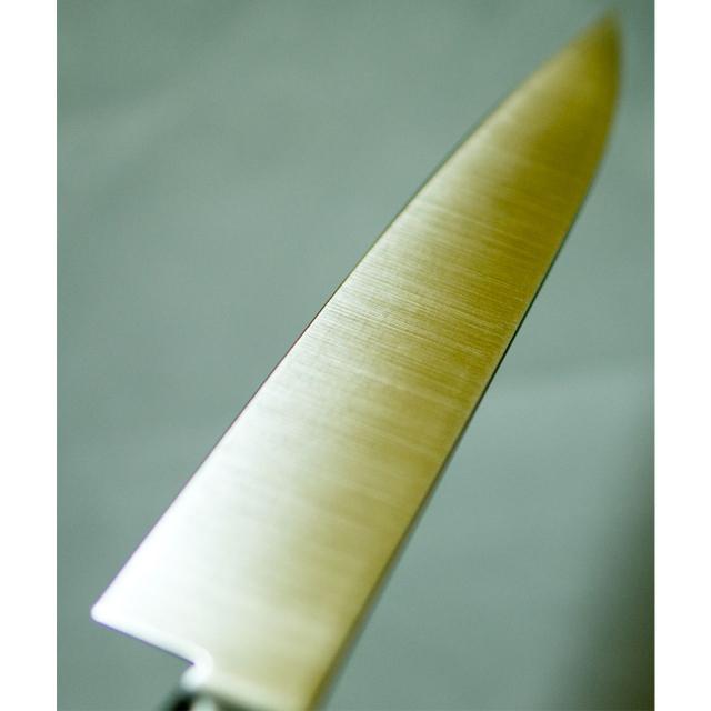 日本和包丁 モリブデンペティナイフ 極上 Japanese molybdenum petty knife 120mm 7