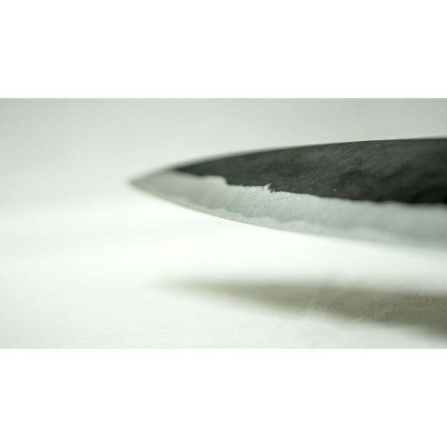 日本和包丁 黒打ち万能 Japanese santoku knife 165mm 8