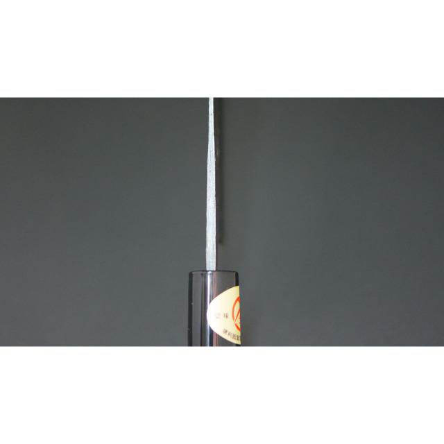 日本和包丁 黒打ち菜切り包丁5.5寸 Japanese nakiri knife 165mm 6