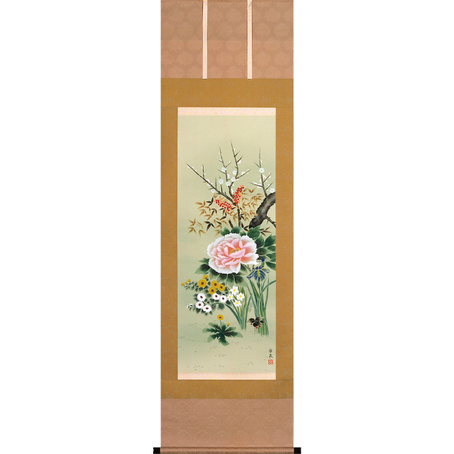 A8306 四季花  尺五立 作者 香泉