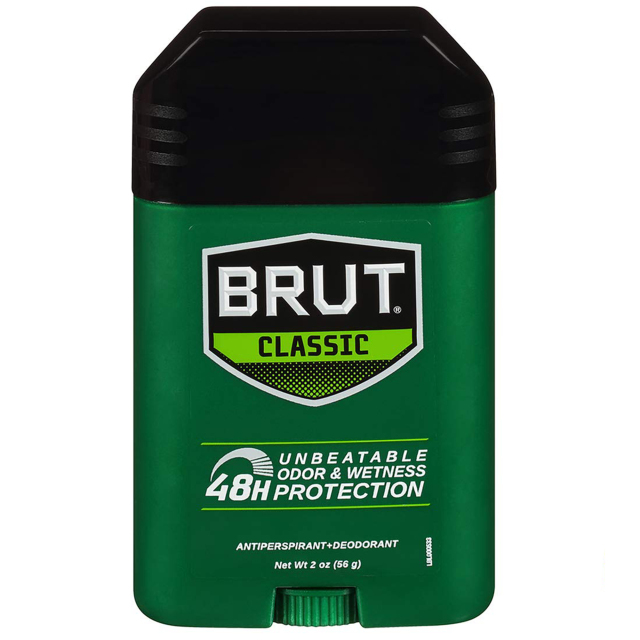 [LP可]BRUT ブリュット Anti-Antiperspirant Deodorant 制汗タイプ 海外デオドラント CLASSIC クラシック 2 oz 56 g