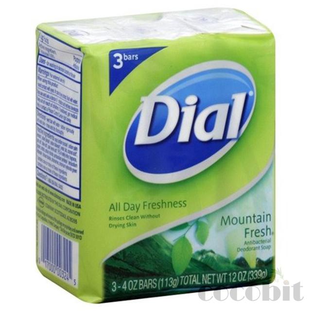 ダイアル ダイヤル デオドラント石鹸 dial bar soap mountainfresh マウンテンフレッシュ